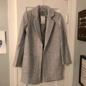 ASOS women's NWT grey slim coat